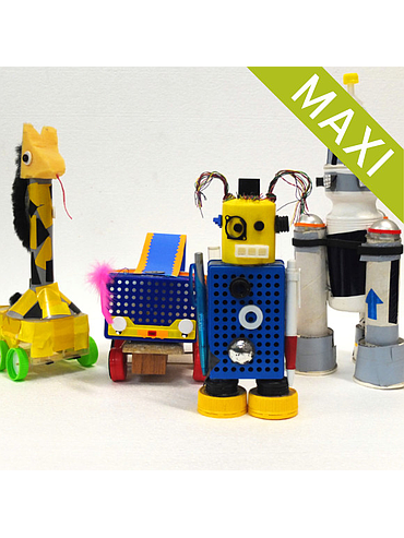 Robots and Space Explorers - Maxi pack